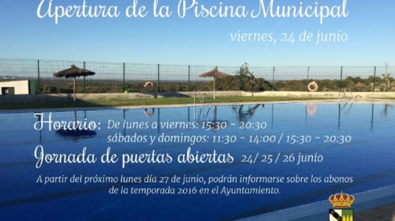 Jornada de puertas abiertas de la piscina municipal de San Silvestre de Guzmán