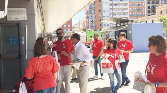 El PSOE aboga por ofrecer una renta mínima vital a las personas que no tienen nada
