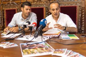 Francisco Cristóbal y José Antonio Fernández en rueda de prensa.