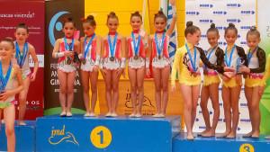 El equipo prebenjamín copa logró la medalla de oro.