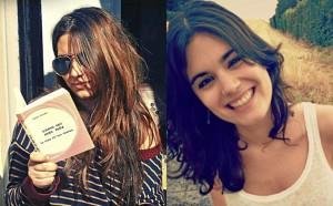 Adriana Moragues y Elvira Sastre.