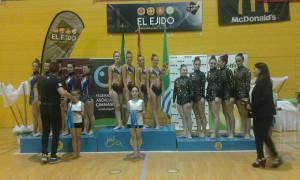 Las seniors copa, también fueron campeonas de Andalucía.