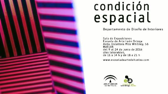 La Escuela de Arte presenta en su Sala de Exposiciones la muestra 'Condición espacial'