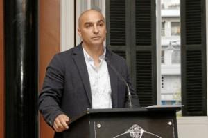 José Manuel durante su intervención en la entrega del Premio Empleado Público del Año.