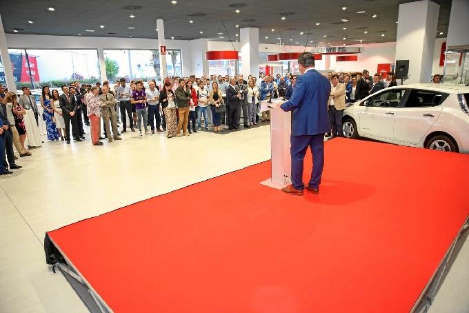 Andalsyr, concesionario oficial Nissan para la provincia de Huelva, inaugura nuevas instalaciones