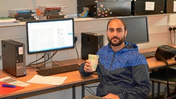 Emilio Gómez Barranco, investigador y docente onubense en la Universidad de Kent