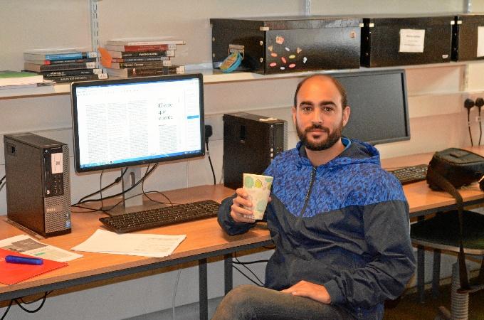 Emilio Gómez Barranco cursa el doctorado en la Universidad de Kent