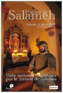 Cartel de la actividad que se celebrará en Zalamea la Real.