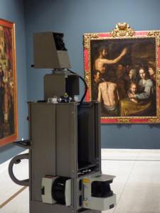 Las cámaras de Google en el Museo de Huelva.