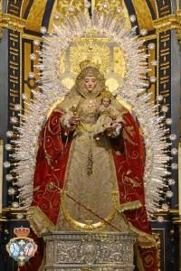 Virgen del Valle Coronada, patrona de La Palma del Condado.