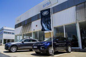 Gysa, el concesionario oficial de Land Rover en Huelva, se encuentra situado en Peguerillas