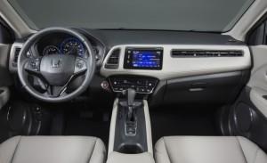 El interior del Honda HR-V es espacioso y con acabados de calidad
