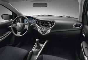 El interior del Suzuki Baleno destaca dentro de su segmento