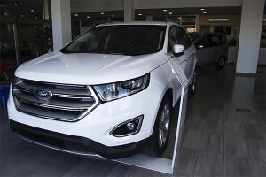 El Ford Edge 2016 es una de las estrellas de la exposición de Huelva Automoción