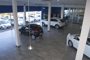 Huelva Automoción cuenta con una amplia exposición de vehículos