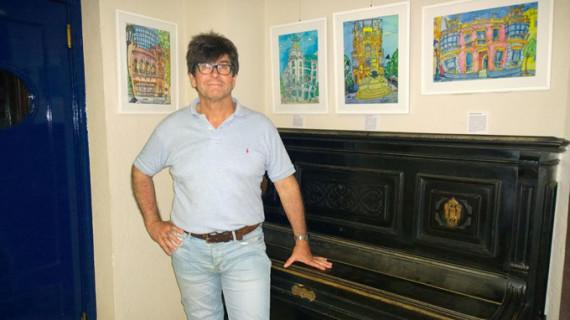 La exposición itinerante 'Mi Huelva', de Andrés Espuelas, recala en Punta Umbría