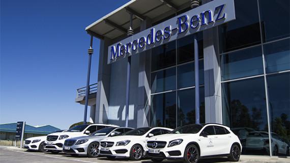 Siempre en la vanguardia, la marca top de vehículos, Mercedes Benz,  en Huelva en Adarsa Sur
