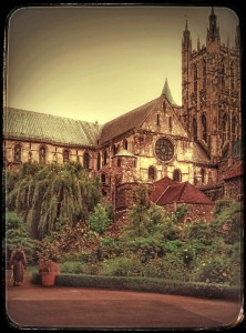 El onubense destaca la belleza de la ciudad en la que vive, Canterbury.