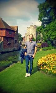 En los jardines de la Westgate, en Canterbury.