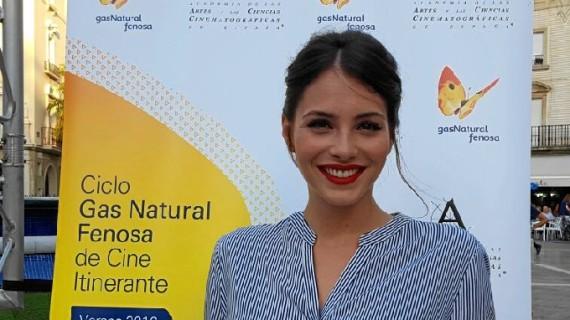 Andrea Duro y la película 'Los miércoles no existen' triunfan en Huelva