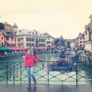 En la ciudad francesa de Annecy.