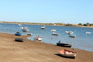 El Rompido, un pueblo de pescadores.