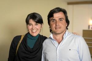 Fernando Arroyo, con María Belón, cuya historia inspiró la película 'Lo Imposible'.