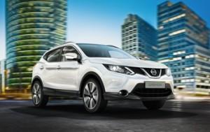 El Nissan Qashqai es lider en el segmento de los todocaminos urbanos