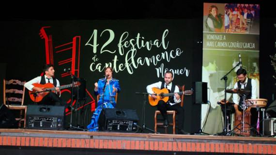 El flamenco se hizo grande en la celebración del 42º Festival de Moguer, todo un clásico del verano onubense