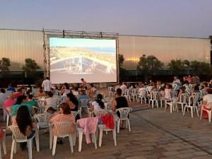 El ciclo Cine bajo las Estrellas de La Rábida comenzó el pasado jueves 'Hotel Transilvania 2'.