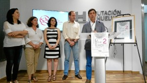Presentación del evento en Diputación.