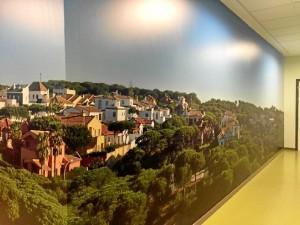 En la fotografía se reproduce la Playa del Vigía, en una panorámica de 360º.