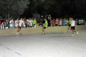 Los menores pudieron participar en actividades deportivas.