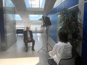 Durante el rodaje se han realizado unas 40 entrevistas a expertos en el tema.
