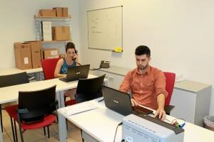 Imagen de las oficinas de la empresa en el CADE de Isla.