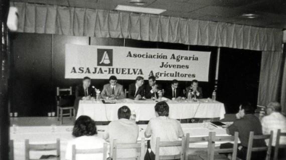 Asaja Huelva cumple 25 años con el objetivo de seguir liderando el desarrollo del sector agrario onubense