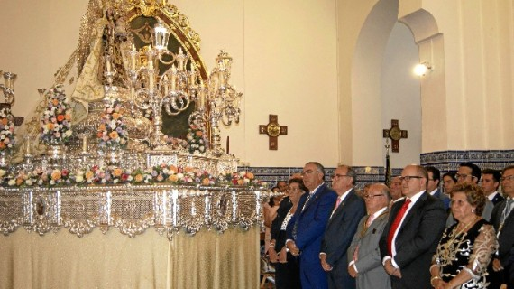 Los isleños celebran la festividad de la Virgen del Carmen