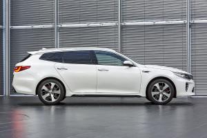 El Kia Optima Sportwagon, que saldrá al mercado en el próximo septiembre, se espera que constituya un acontecimiento