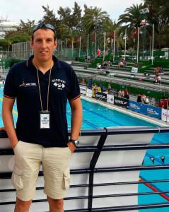 Matías Díaz Rebollo, nadador del CD Máster Huelva.