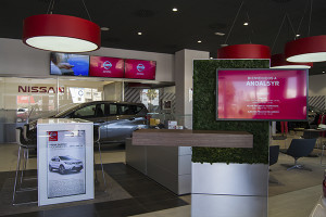 Andalsyr es la firma que pone a disposición de los onubenses los vehículos Nissan