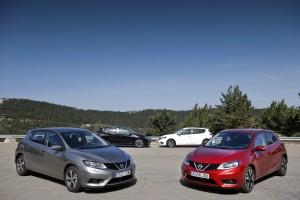La gama Pulsar de Nissan nos ofrece un espacioso compacto
