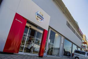 Andalsyr, concesionario oficial de Nissan en Huelva, se encuentra en el Polígono La Paz