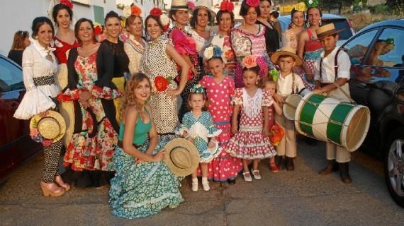 La Plaza de Toros de Campofrío acoge un desfile de la diseñadora Charo Valera con motivo del tercer centenario del coso taurino