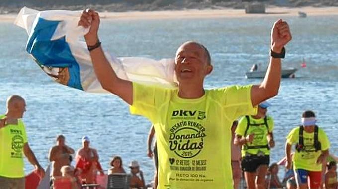 El atleta onubense, Rodrigo Ruiz Baldallo.