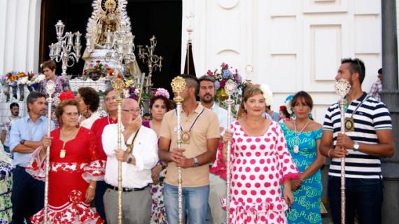 Isla Cristina no faltó a su cita con la patrona de los marineros, la Virgen del Carmen