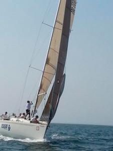 Como único barco español participante en la prueba en el Algarve, el segundo lugar fue todo un éxito.
