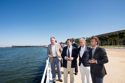 Abre al público el Paseo de la Ría de Huelva