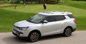 El nuevo SaanYong XLV es un moderno crossover diseñado para satisfacer las máximas exigencias en este segmento