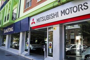 Isla Saltés Motor ostenta el concesionario oficial de SaangYong y Mitshubishi