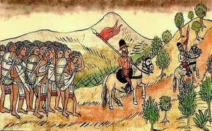 Los indios americanos desconocían el uso del caballo. / Foto: mihistoriauniversal.com